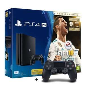 PS4 Pro 1TB + FIFA 18 Ronaldo Edition + Extra Controller voor €359 @ Bart Smit