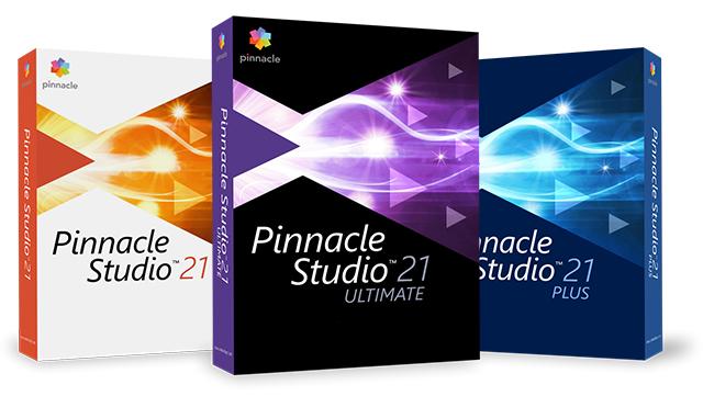 15% Korting op Pinnacle Studio 21 familie (Ultimate mogelijk voor € 76,42)