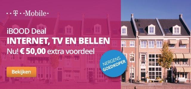 €50 extra korting op T-Mobile Alles-in-1 pakketten vanaf 50 Mb/s @ iBOOD