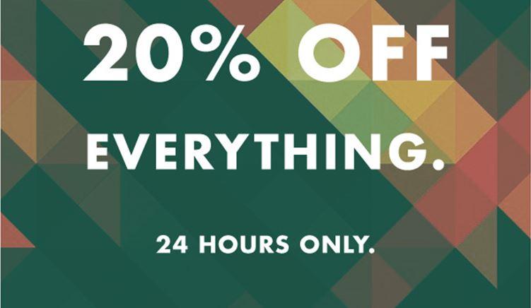 [UPDATE] Actie: 20% korting op alles, ook op sale @ Topman