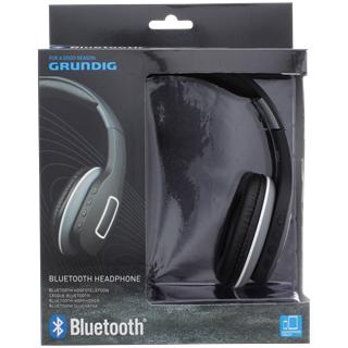 Grundig bluetooth hoofdtelefoon voor €11,98 bij Action