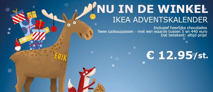 IKEA adventskalender voor €12,95 @ IKEA
