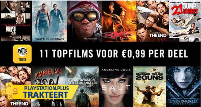 Betaal slechts €0,99 voor een top film @ Pathé Thuis