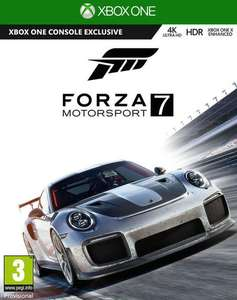 Forza Motorsport 7 (Xbox One) voor €36,50 @ Coolshop