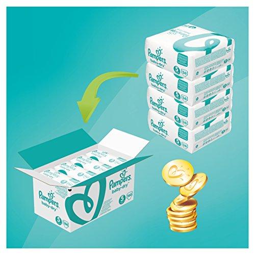Pampers luiers maandboxen bij Amazon.de (prime) - bijv. Baby-Dry mt 5 voor 23,19