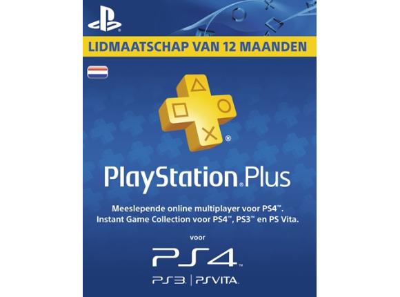 PlayStation Plus Voucher 365 Dagen voor €44,44 @ Wehkamp