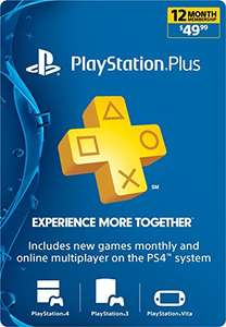 1 jaar Sony PlayStation Plus Membership US (digitale code) voor €34,50 @ Amazon.com