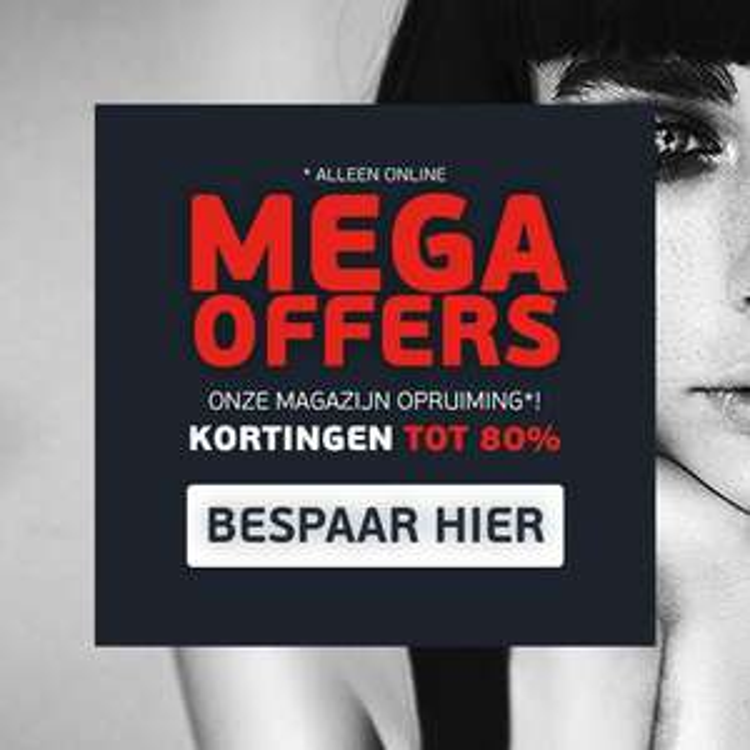 MEGA sale tot 80% + stapelkorting + €10 extra (va €40) @ PABO