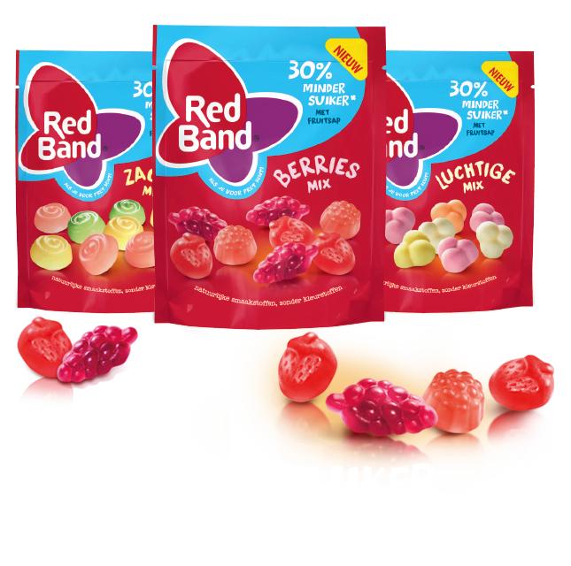 Probeer Gratis Redband 30% minder suiker @ via scoupy
