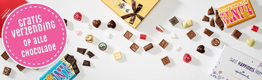 Hallmark gratis verzending op alle chocolade (t/m 9 november)