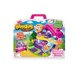 Spinmaster Hamsters in a House Ultimate Hamster House Speelset @ Kruidvat