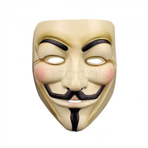 V for Vendetta Guy Fawkes  masker voor €0,18 @ Zapals