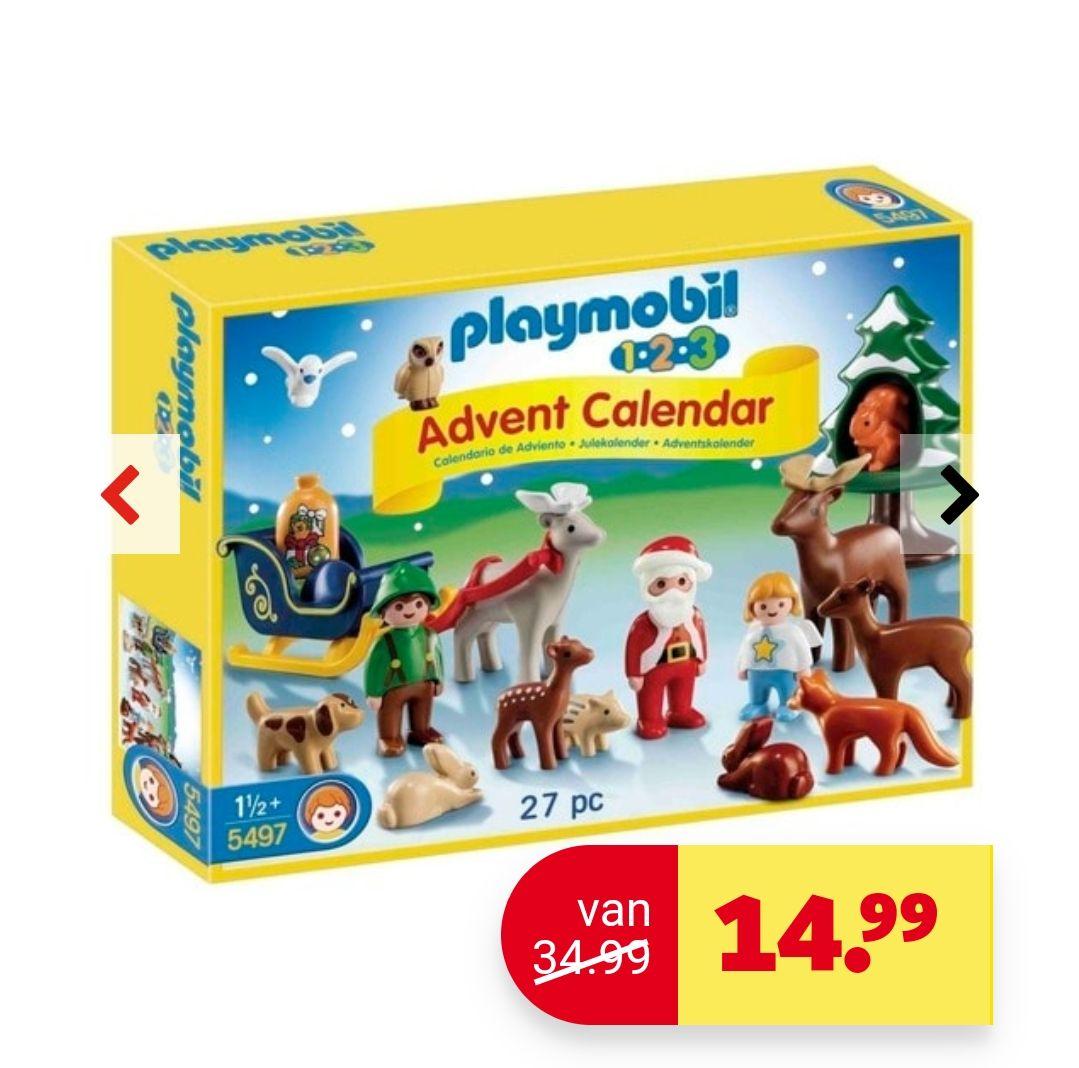 Playmobil 123 adventskalender bij Kruidvat