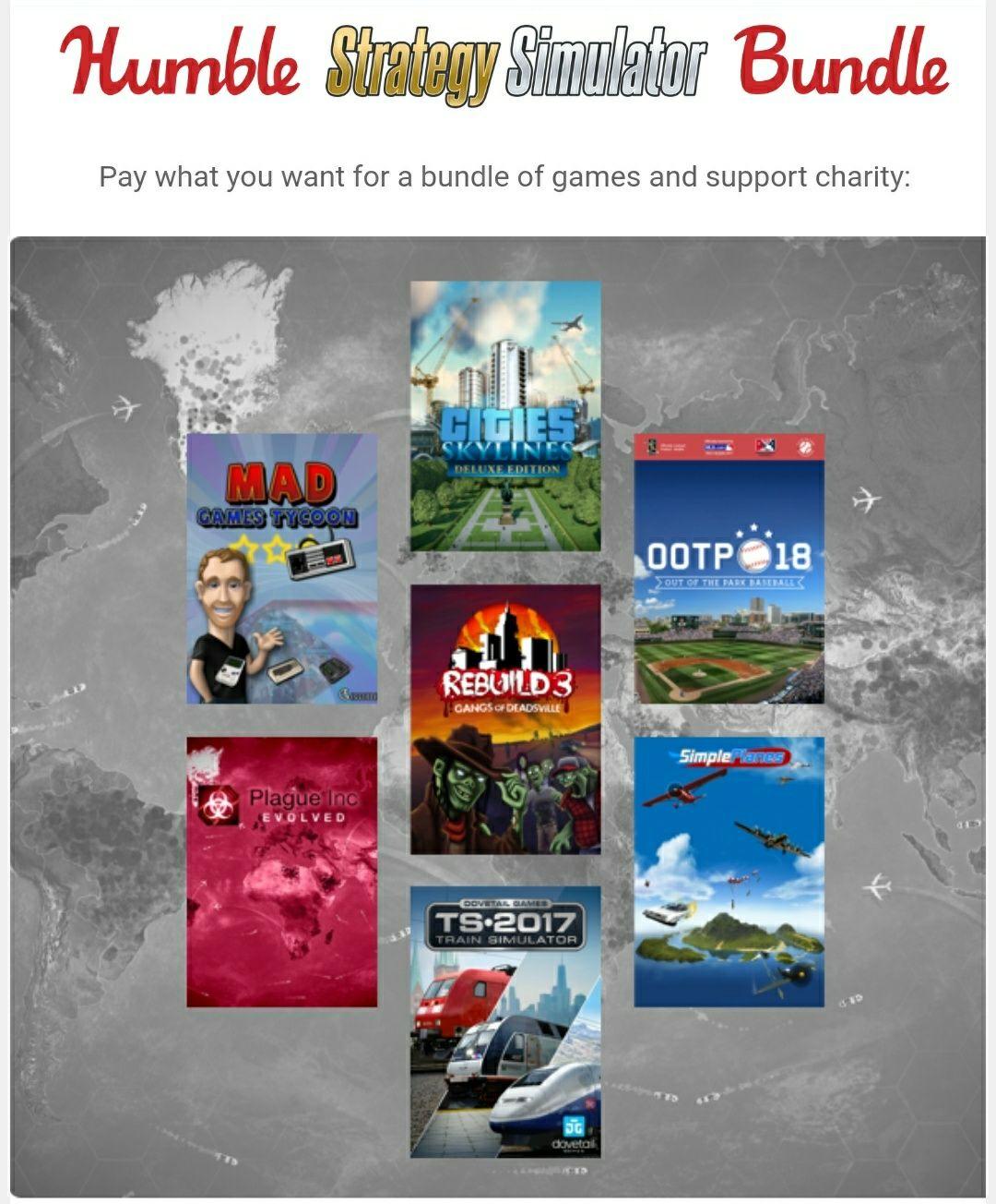 Humble Bundle Strategy Simulator Bundle