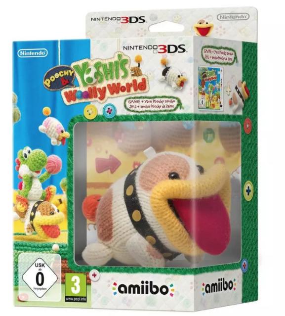 Poochy & Yoshi's Woolly World met Poochy amiibo (3DS) @ Wehkamp