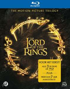 Lord Of The Rings Trilogy Box (Blu-ray) voor € 11,99 @ Bol.com