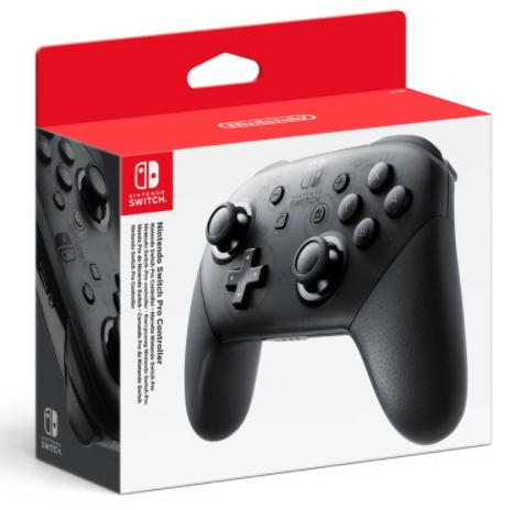 Nintendo Switch Pro Controller Zwart @ Wehkamp