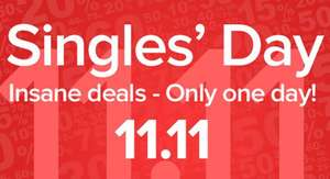 Singles Day @ Coolshop