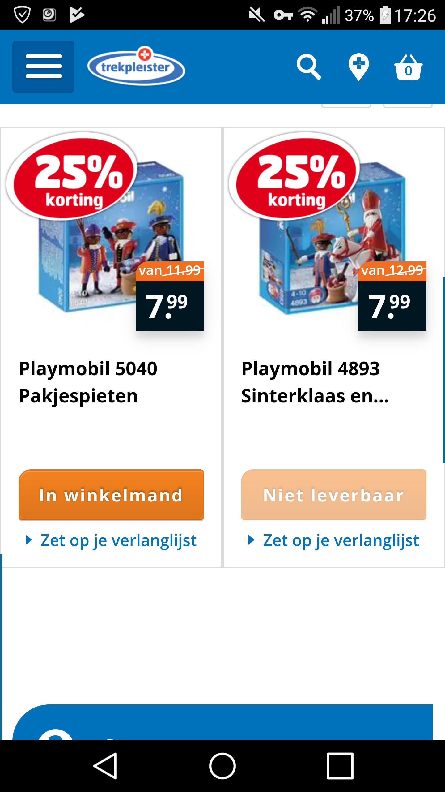 Playmobil Sint en Piet