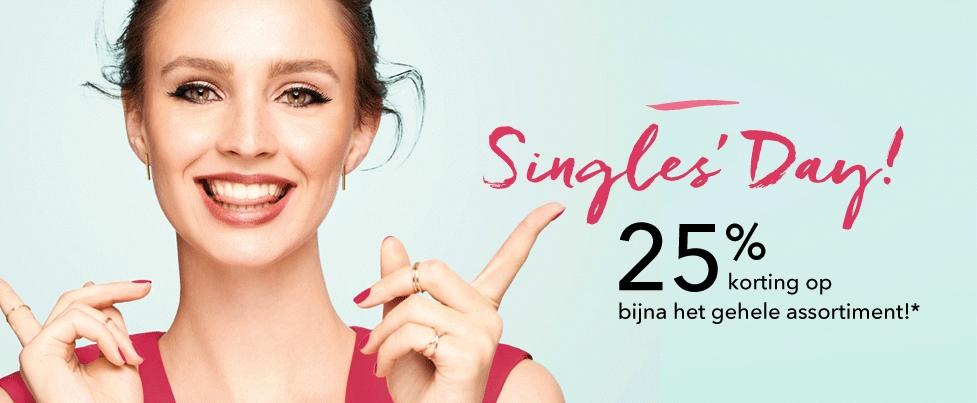 25% korting @ douglas (singles day)