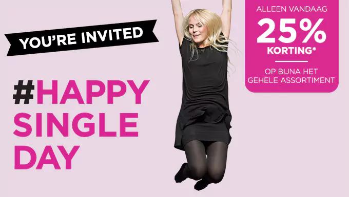 25% korting @ ici paris (singles day)