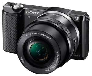 Sony Alpha ILCE 5000 Systeemcamera + 16-50mm objectief voor €299 @ Bol.com