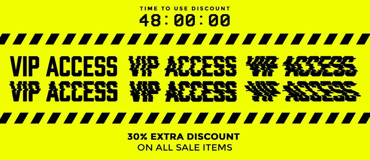 Dit weekend 30% extra korting op sale @ Sneakerbaas