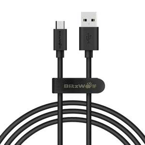banggood BlitzWolf® BW-CB7 2.4A 3.33ft/1m Micro USB Charging Data Cable With Magic Tape Strap €1,73 @ Banggood