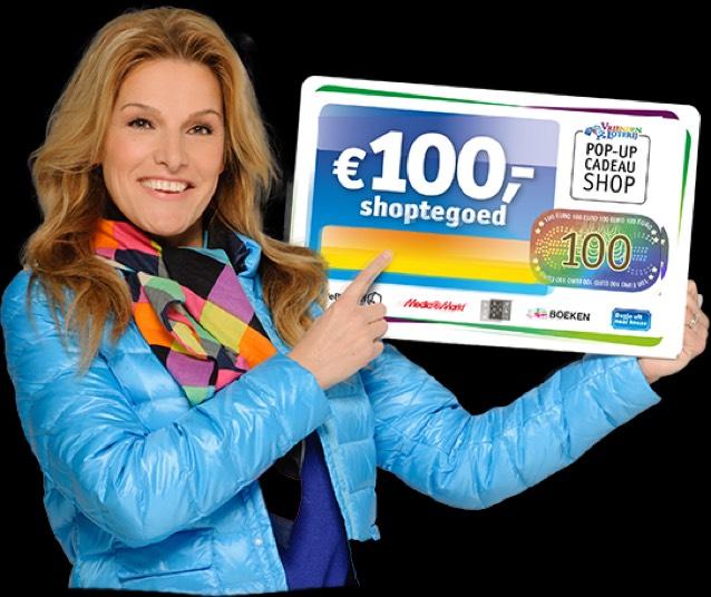 €100 Shoptegoed @ Vriendenloterij