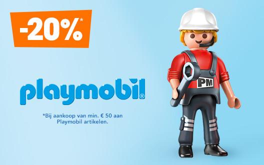 """20% op playmobil artikelen @ Toys""""R""""Us"""