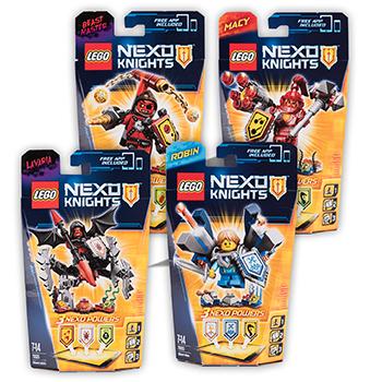 Lego Nexo Knights (diverse uitvoeringen) €6,99 @ Dirk / Dekamarkt