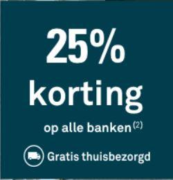25% Korting op alle banken en fauteuils + GRATIS verzending (t.w.v. €29/ €39) @ Karwei