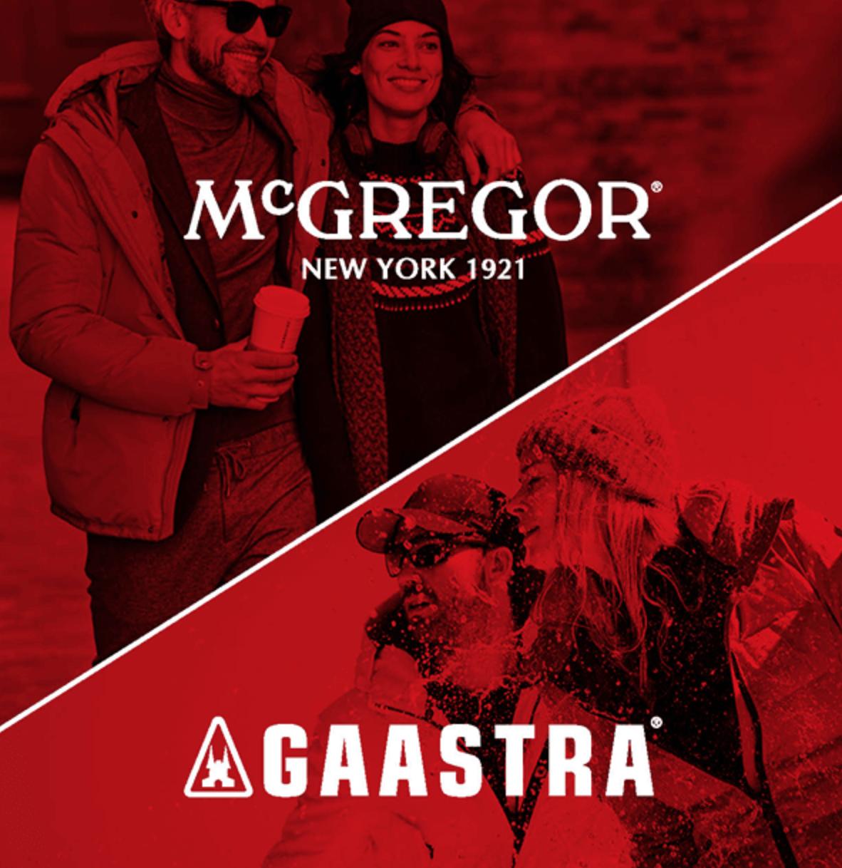 50% korting op alles @ McGregor/Gaastra