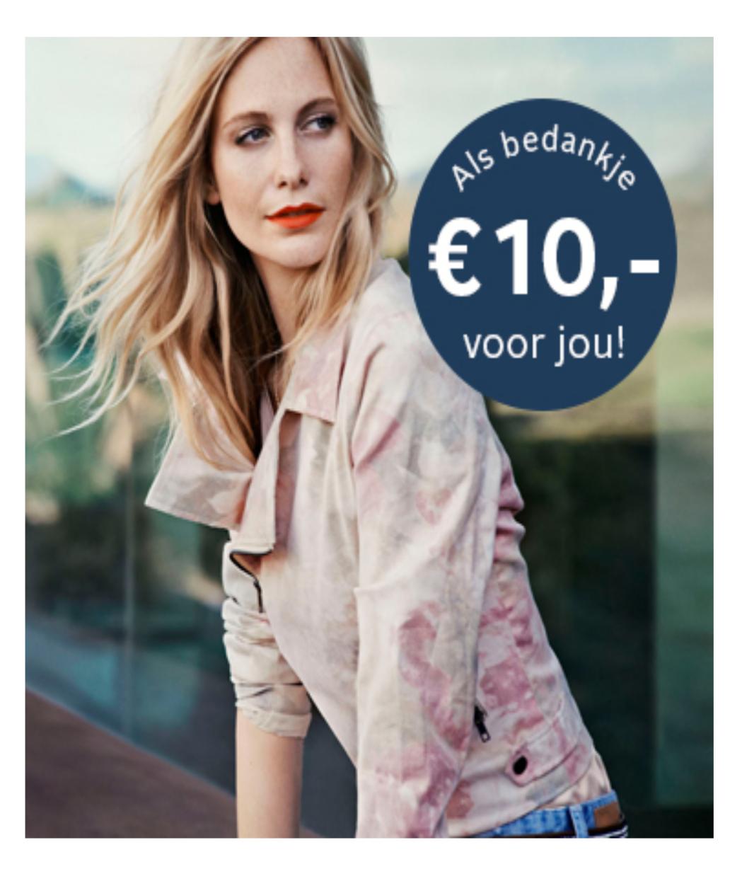 10 euro korting bij minimale besteding van 10 euro @ Otto
