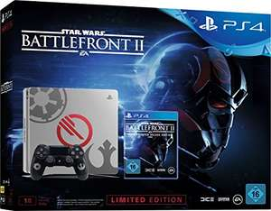 PlayStation 4 (Slim) 1TB Star Wars Edition + Star Wars Battlefront II (Elite Trooper Deluxe Edition) @ Amazon.de