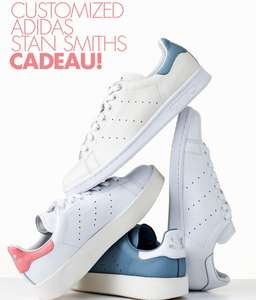 10x Vogue + customized adidas stan smith sneakers