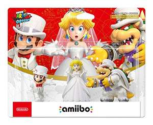 Super Mario Odyssey Amiibo Wedding Triple Pack voor €27,63 @ Amazon.fr
