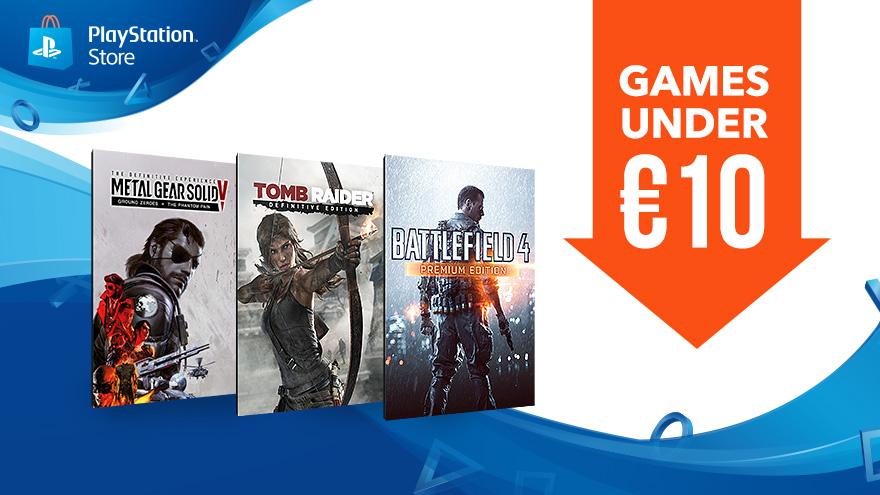Games onder de €10 + Deal of the Week @ PSN EU