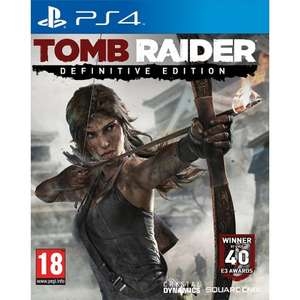 Tomb Raider - Definitive Edition (PS4) voor € 32,80 @ The Game Collection