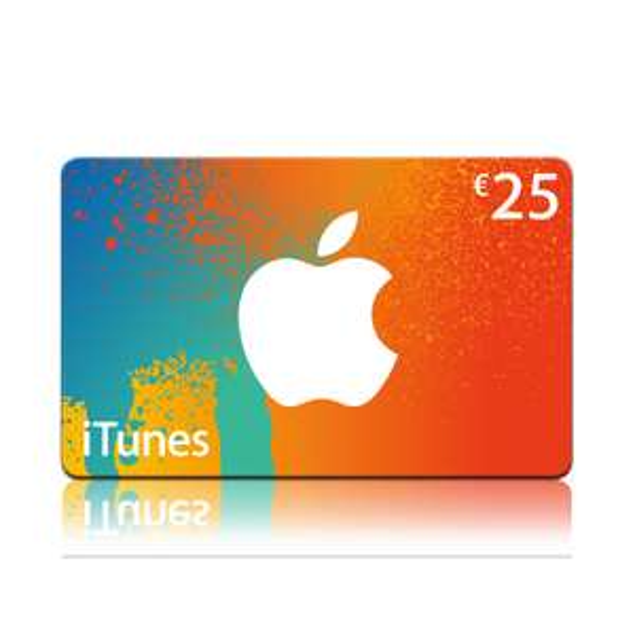 iTunes kaart van €25 voor €21 @ Primera