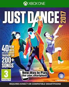 Just Dance 2017 XBox ONE €12,50 @ Coolshop