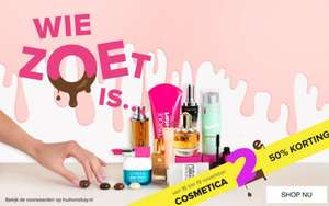 2e Cosmetica product 50% korting @ Hudson's Bay