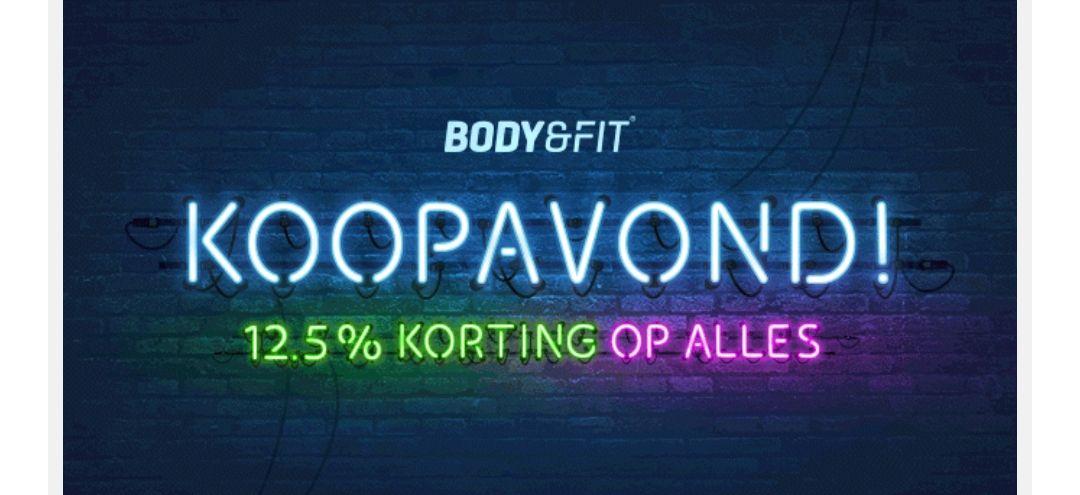 Body en fitshop koopavond