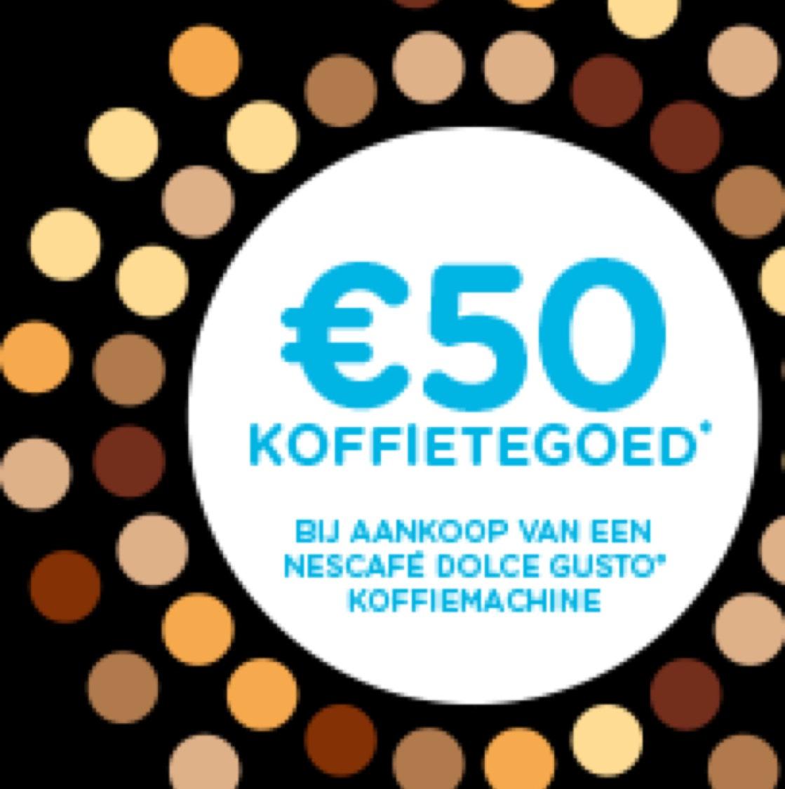 Dolce Gusto €50,- koffietegoed