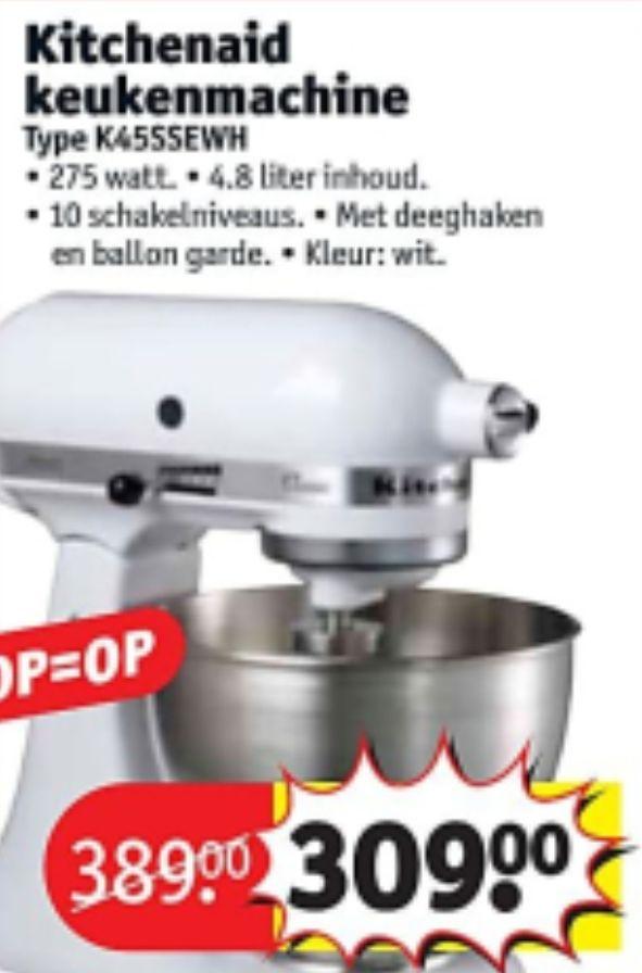 kitchenaid K45SSEWH en andere black friday deals bij Kruidvat ELKE DAG NIEUWE ONTHULLINGEN