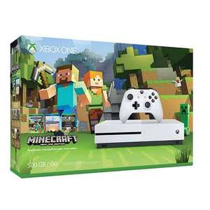 Xbox One S 500GB Minecraft Bundel voor €161,10 @ Bart Smit
