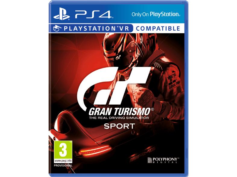 Aanstaande maandag: Gran Turismo Sport €29 bij Media Markt