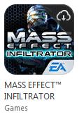 Gratis iOS app MASS EFFECT™ INFILTRATOR (t.w.v. €1,99) @ IGN