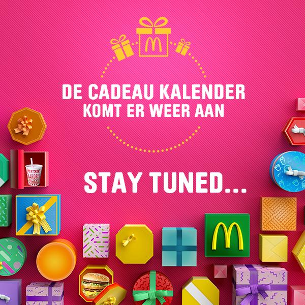 McDonalds Cadeau kalender