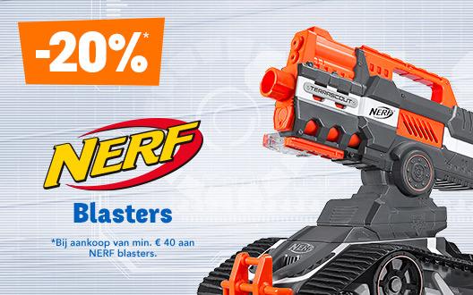 20% op NERF blasters
